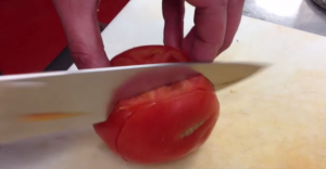 tomato dicing