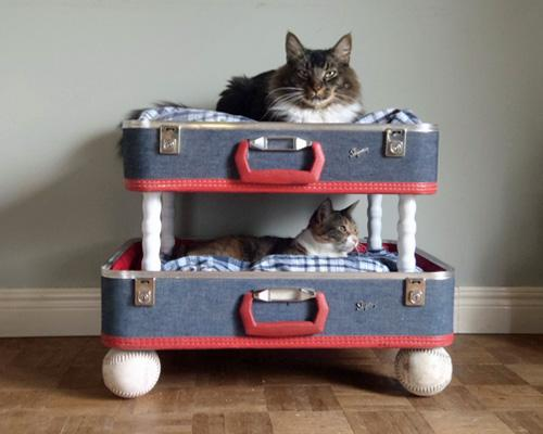 Upcycled Pet Bed Upcycle Furniture Into A Pet Bed
