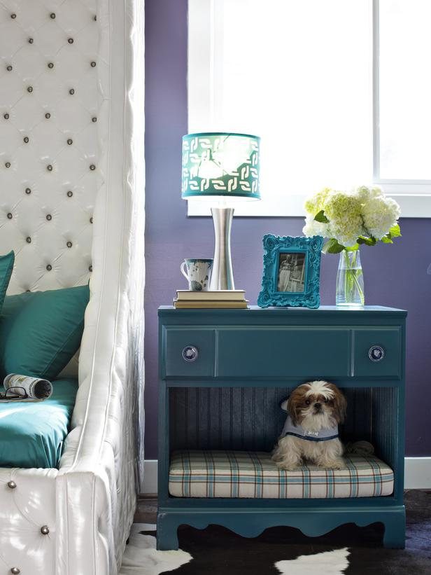 Design#5000587: Upcycle furniture into a pet bed. Diy Shabby Chic Pet Bed