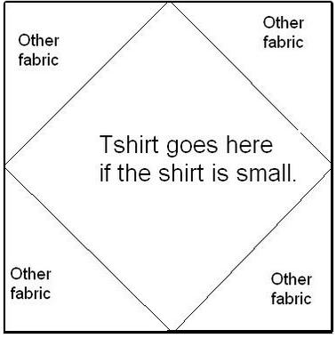 t shirt quilt instructions