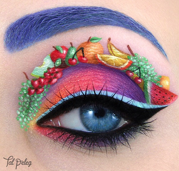 eye shadow art - tal peleg - fruity