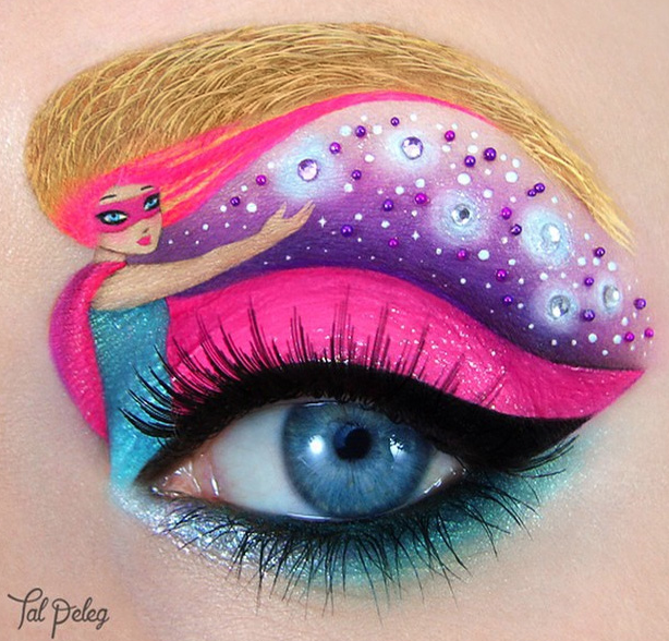 eye shadow art - tal peleg- allcreated