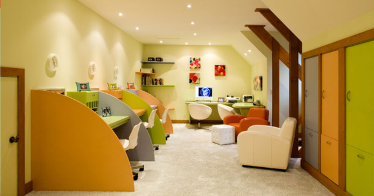 Room decor home school kids teach learn 17 ideas for How to learn to decorate your home