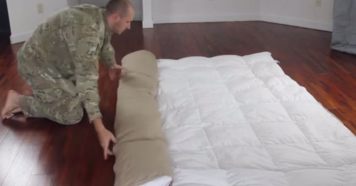 Duvet Cover On In Minutes Life Hack Easy Steps Video