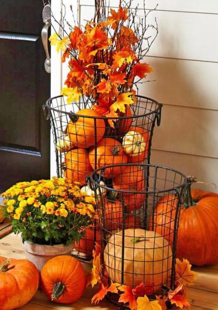 Home Decor Using Pumpkins Diy