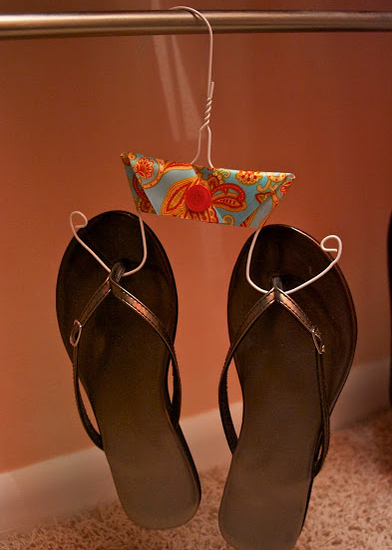 Flip Flop Hanger Space Saver Diy