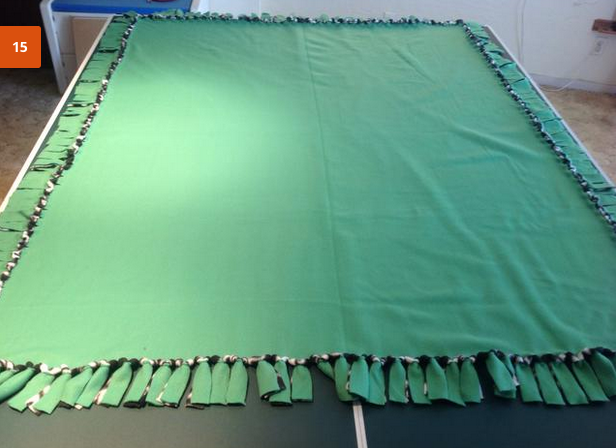 How To Make No Sew Fleece Blankets