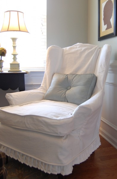 Jm Allcreated DIY Make Slipcovers For Chairs 1