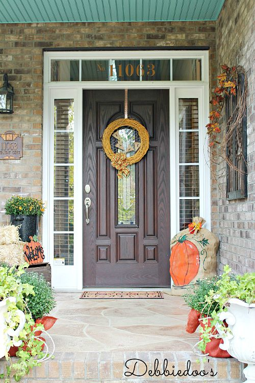 front porch decor front porch fall decor 11533