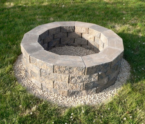 steps to build fire pit diy. Black Bedroom Furniture Sets. Home Design Ideas