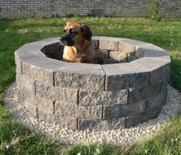 Backyard Steps Ideas: Steps To Build Fire Pit DIY