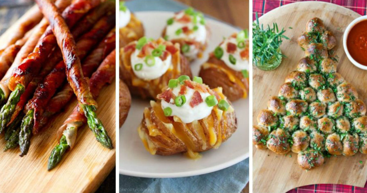 12 Thanksgiving And Christmas Appetizers All Created