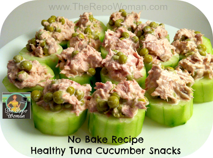Quick recipe healthy tuna cucumber snacks all created for Quick healthy snacks to make at home