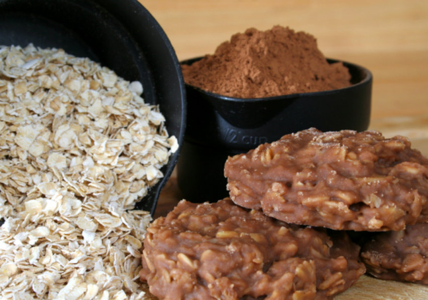 Easy Dessert Recipe No Bake Chocolate Oat Cookie Prev Article Next 12tomatoes