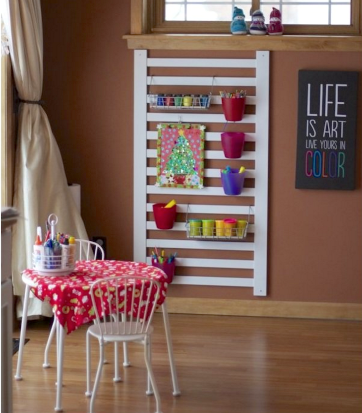 Baby Crib Upcycle - AllCreated
