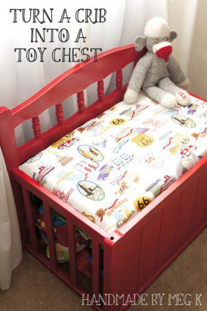 7 Ways To Upcycle Baby Cribs All Created
