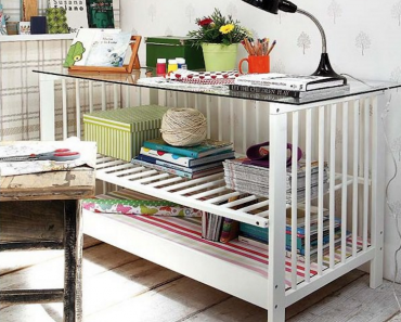 Baby Crib Upcycle