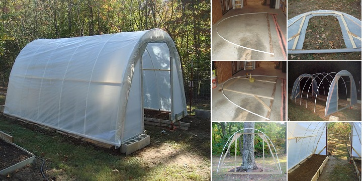 Easily build your own greenhouse for just 50 all created - Como hacer un invernadero en casa ...