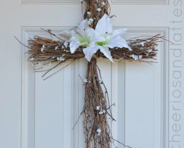 DIY-Easter-Cross-Wreath - AllCreated