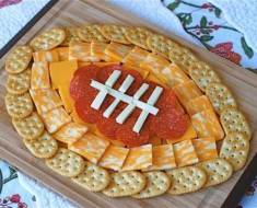 Football Cheese Plate - AllCreated