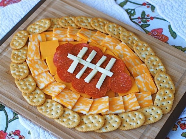 Football Cheese Plate - AllCreated
