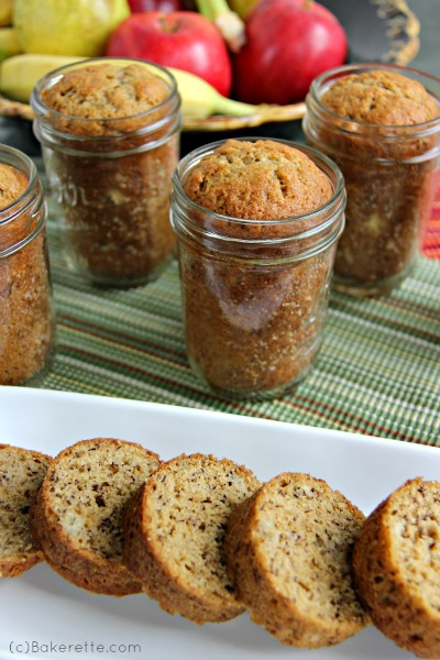 Mason Jar Banana Bread - AllCreated