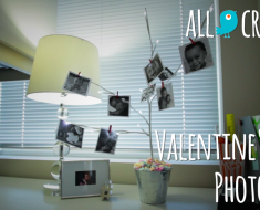 Valentines day photo tree - AllCreated