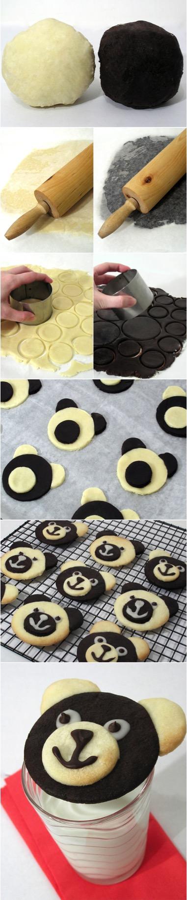 Teddy Bear Cookies- All Created