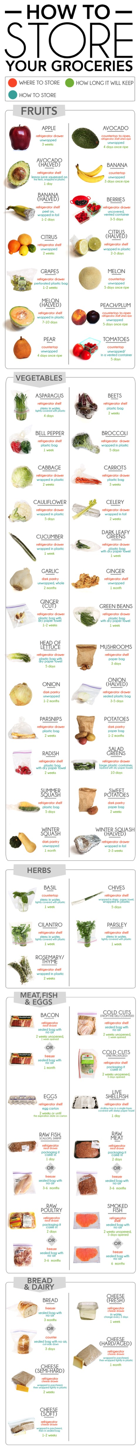 how-to-store-groceries -AllCreated