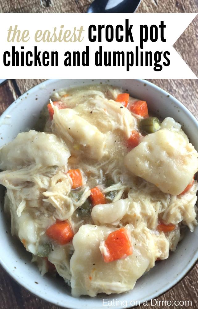 AllCreated - Chicken and Dumplings Recipe
