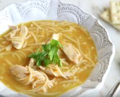 llCreated - Pot Chicken Noodle Soup