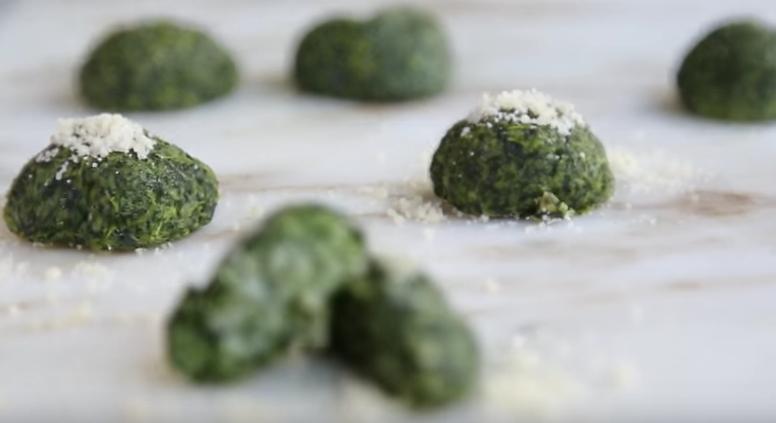 AllCreated- Spinach dumplings