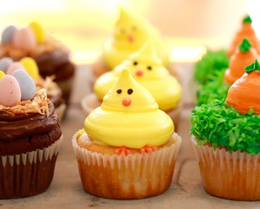 AllCreated - Toaster oven Cupcakes-Spring