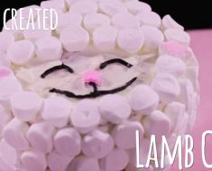 Lamb of God Easter Cake - AllCreated