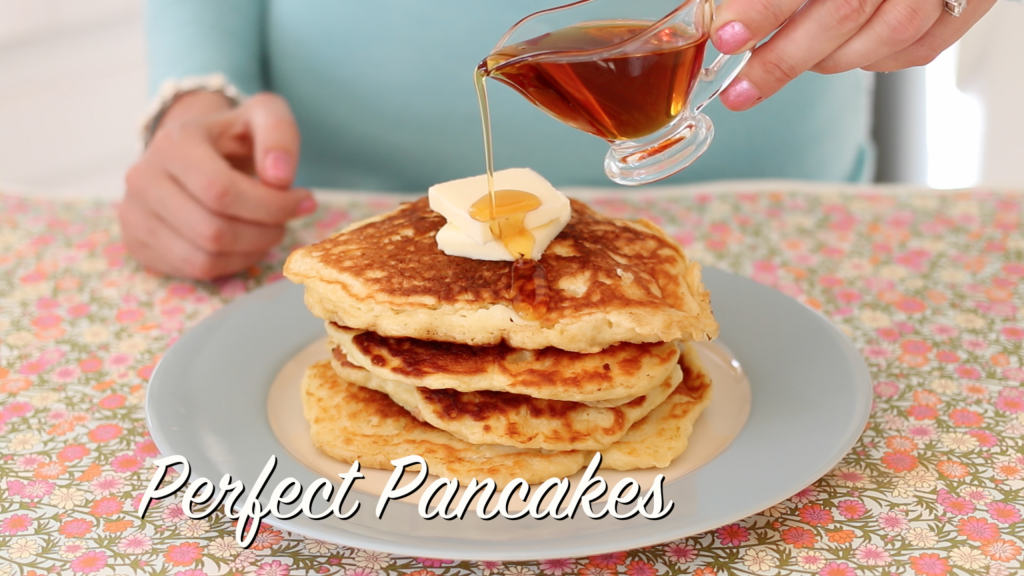 Perfect Pancakes Recipe - AllCreated