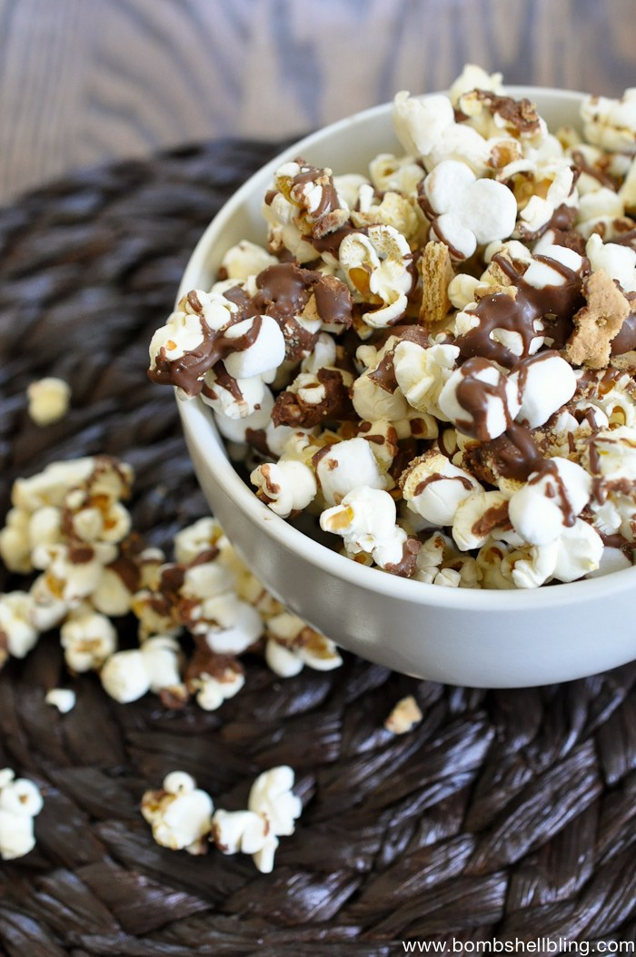 S'mores Popcorn - AllCreated