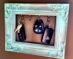 picture frames upcycle - AllCreated