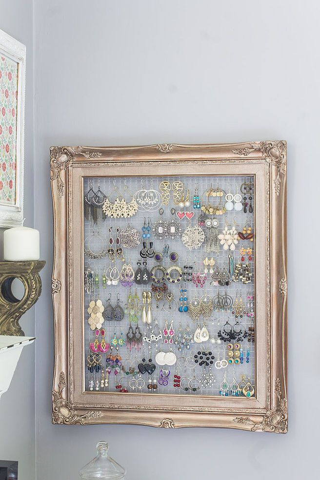 11 Uses For Old Picture Frames All Created