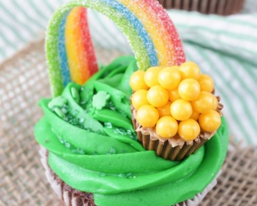 Pot gold st patrick's day cupcakes - All Created