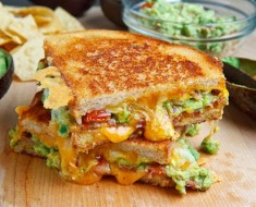 All Created - Bacon Guacamole Grilled Cheese Sandwich
