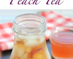 All Created - Easy Southern Peach Tea