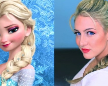 All Created - Frozen Inspired Elsa French Braid