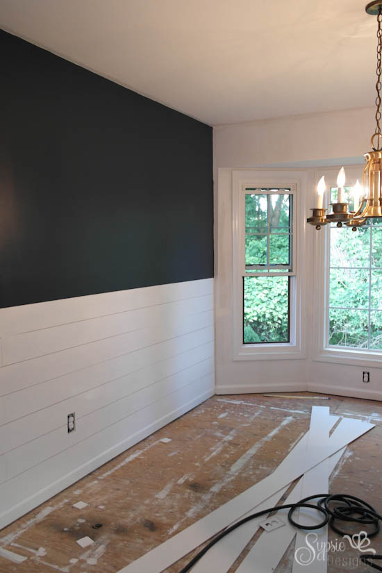 sheetrock over wallpaper