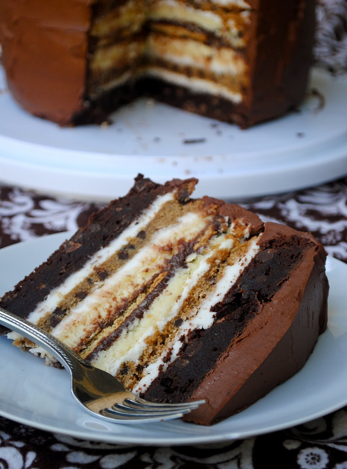 AllCreated - S'mores Chocolate Cake