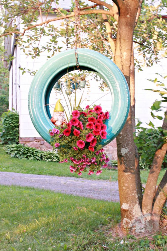 All Created Hanging Flower Basket Ideas