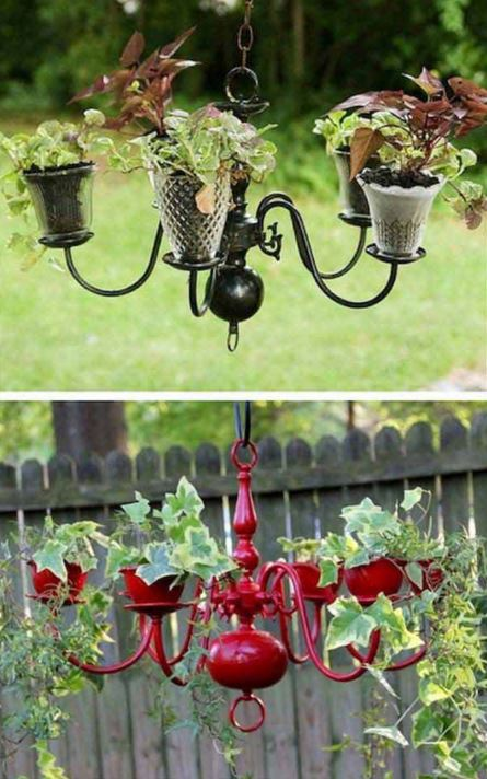 All Created - hanging flower basket ideas