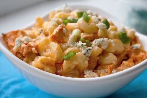 All Created- 10 Mac-n- cheese recipes - Bacon Macaroni and cheese - buffalo chicken