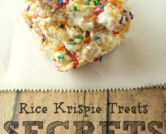All Created - Best Rice Krispie Treats