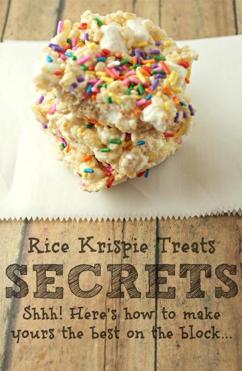 All Created - Best Rice Krispie Treats