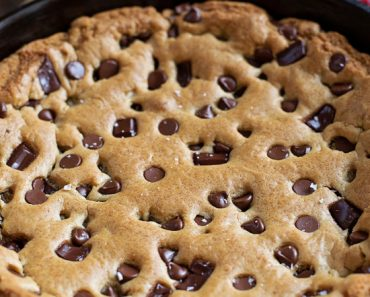 All Created - Cast Iron Skillet Cookie